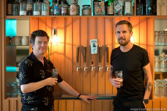 Mikkeller & Rick Astley Opening Mikkeller Bar London 10/19