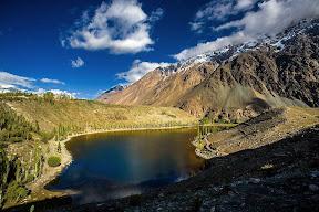 Beautiful view of Phander lake