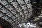 Lime street station roof, liverpool