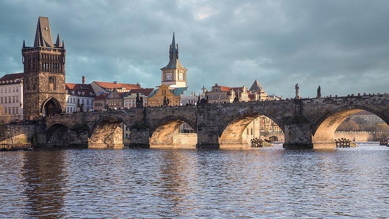 As pontes de Praga