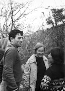 11.1971г. Куш-Кая. Закир Басриев,  Наташа Лотарева, Тома Боярская.