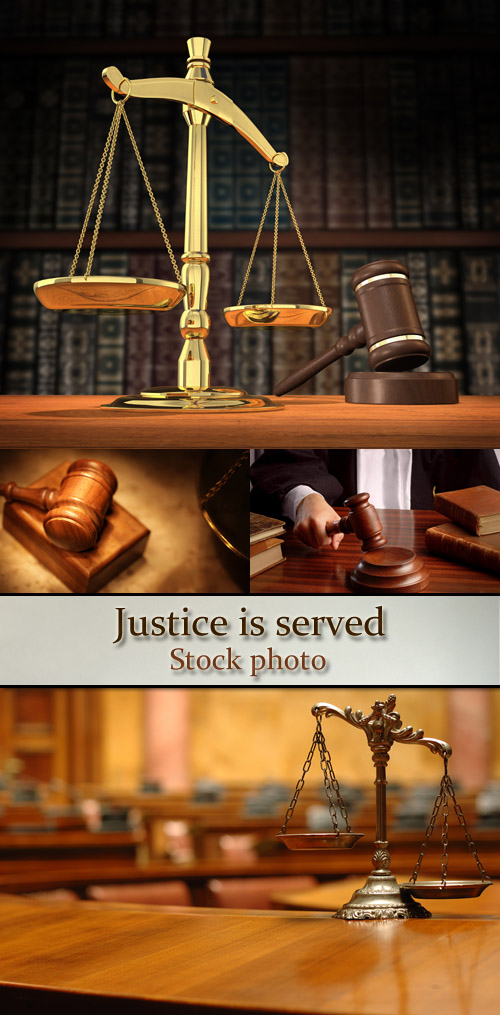 Stock Photo: Justice is served