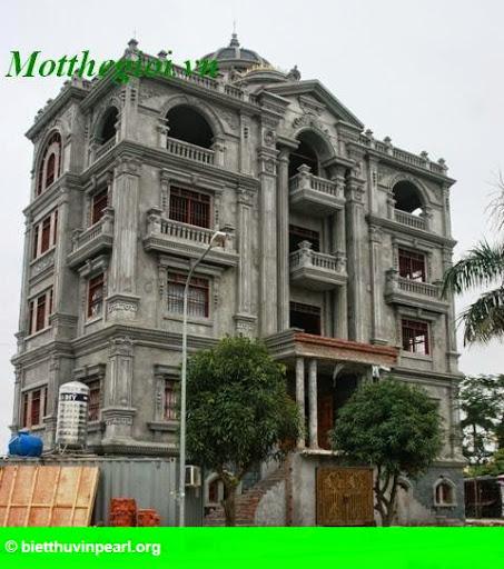 Hình 1: Top 3 biệt thự khủng bậc nhất đất Hà Thành