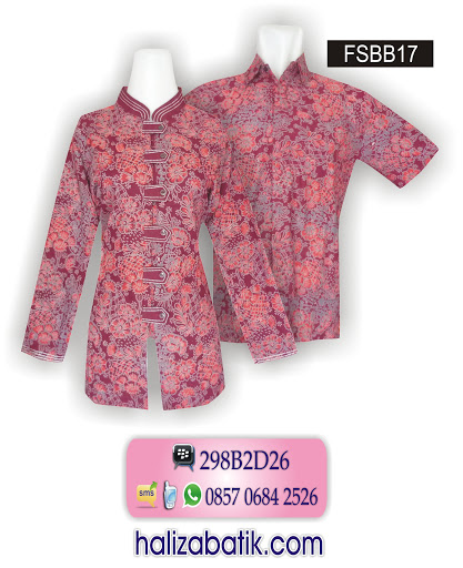 gambar baju batik, sarimbit batik, contoh gambar batik