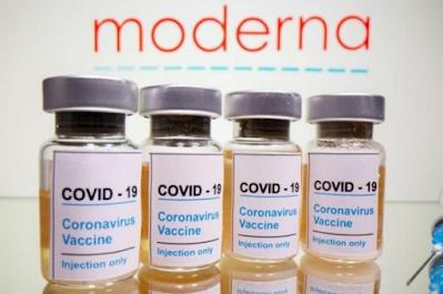 Moderna diz que sua vacina é 94,5% eficaz na prevenção da Covid-19