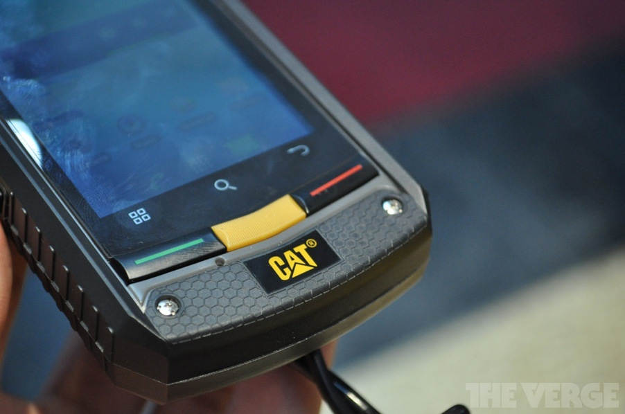 Caterpillar revealed CAT B10 Android Smartphone, caterpillar catb10 2012.jpg