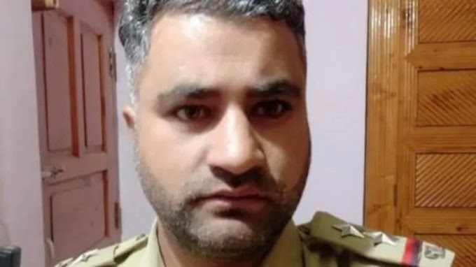 Jammu and Kashmir May police Officer Mohammad Ashraf  Ki hatya