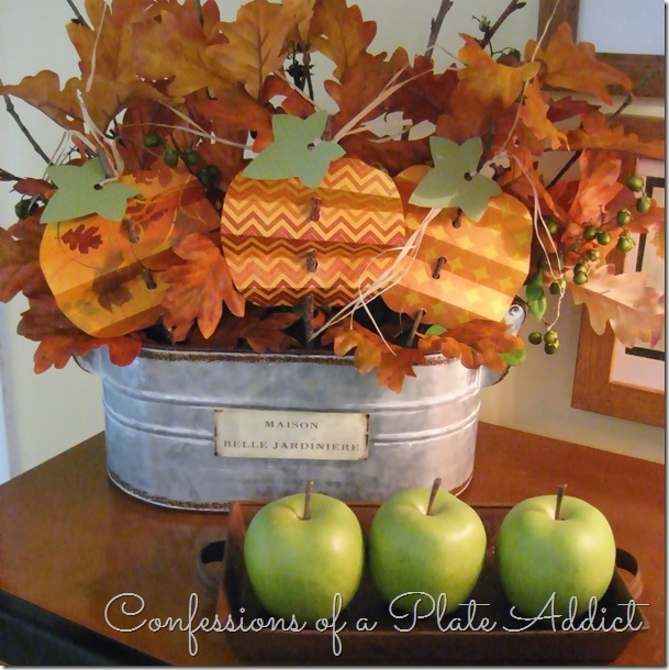 CONFESSIONS OF A PLATE ADDICT Pleated Paper Pumpkins