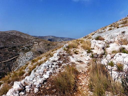 Senderismo: Pou Clar - Camí vell de Bocairent - Barranc dels Tarongers