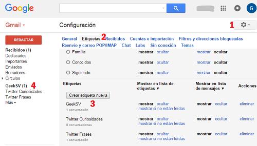 Varias cuentas twitter con un solo correo Gmail