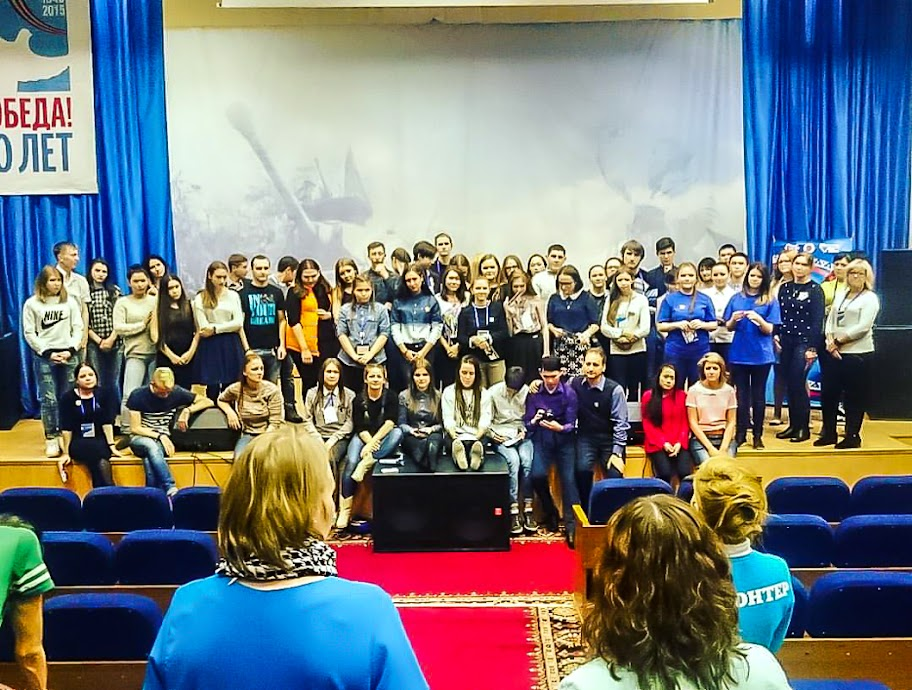 Волонтеры Ямала на сборах 2015