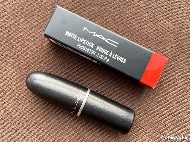 Mac Matte Lipstick Chili Review