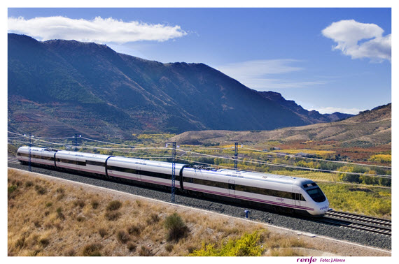 Impulso del tramo Palencia-Aguilar de Campoo del tren de alta velocidad a Santander