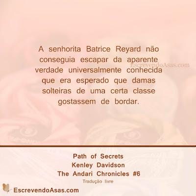 Path of Secrets - Kenley Davidson