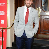 WWW.ENTSIMAGES.COM -   Chris Robshaw   arriving  at     Great Britain - press night at Theatre Royal Haymarket, London September 26th 2014West End Opening at Theatre Royal Haymarket for Richard Bean's GREAT BRITAIN -  Play about an ambitious tabloid editor in production described as anarchic satire about the press, the police and the political establishment.                                                    Photo Mobis Photos/OIC 0203 174 1069