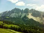 Blick zum Sas Rigeis und Furchetta (3.025m)