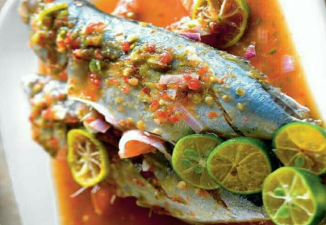Resepi Ikan Kembung Rebus Asam