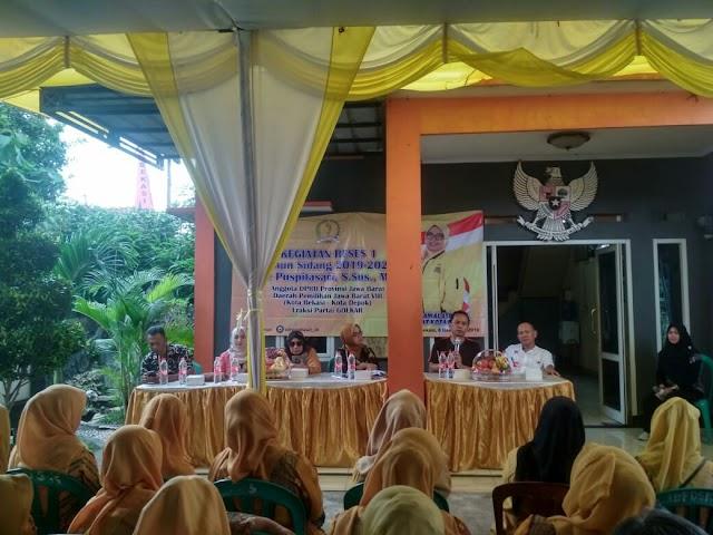 Reses I DPRD provinsi Jawa Barat, Ade Puspita Sari Fokus Perjuangkan Pendidikan dan Kesehatan Gratis