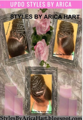 Stuffed twist hairstyle for black women