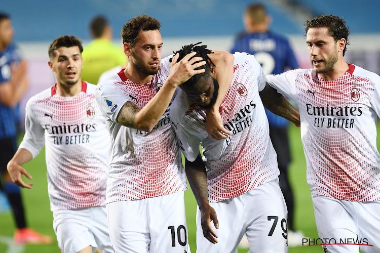 Serie A : l'AC Milan dauphin de l'Inter, la Juventus en Ligue des Champions