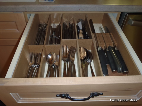 diy cutlery drawer divider on my 0