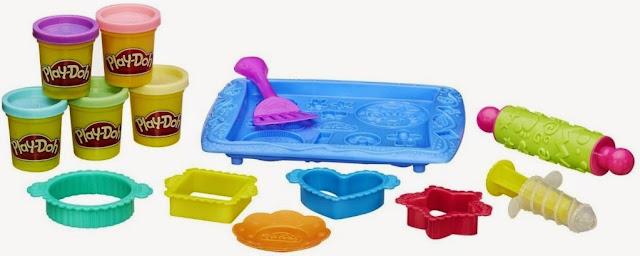 Bộ đồ chơi Khay bánh ngọt ngào Play-Doh B0307 Sweet Shoppe Cookie Creations