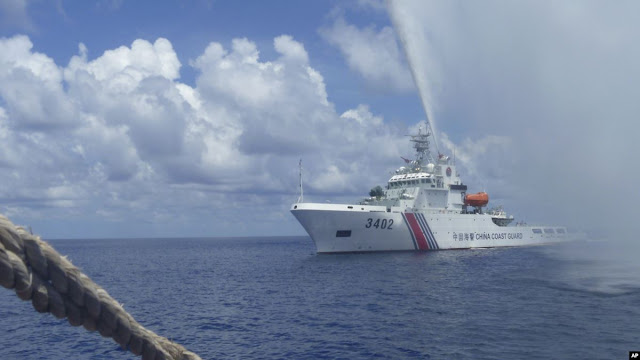 China Kirim 2 Kapal Coast Guard Tambahan ke Natuna
