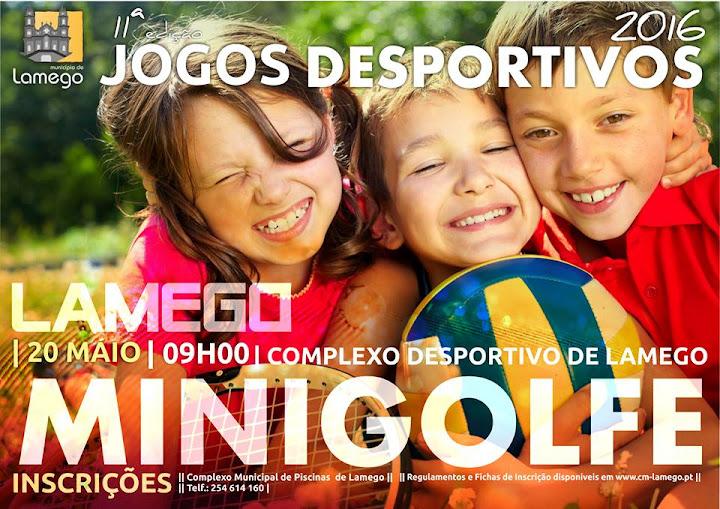 11ª Edição dos Jogos Desportivos de Lamego - 20, 21 e 22 de maio de 2016