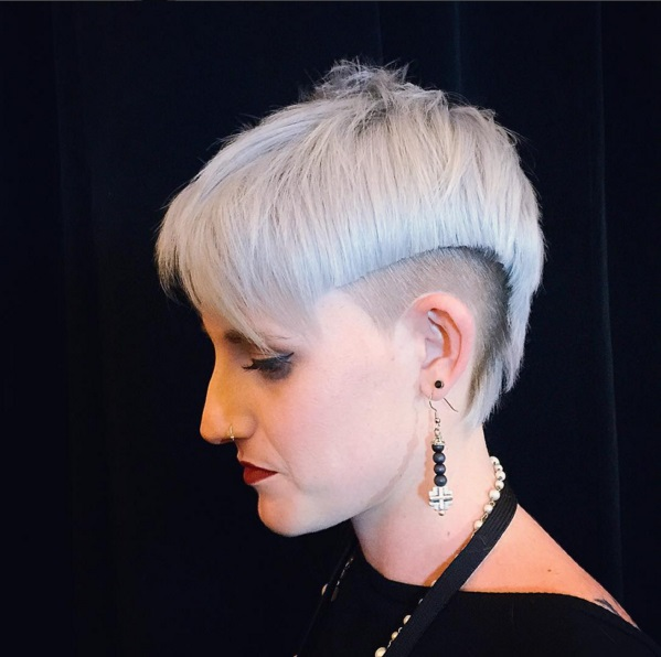 Excellent Short Haircuts With Shaved Sides For Women Cinefog Short Hairstyles For Black Women Fulllsitofus