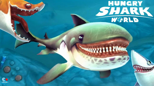 Hungry Shark World APK MOD DINHEIRO INFINITO OBB Data