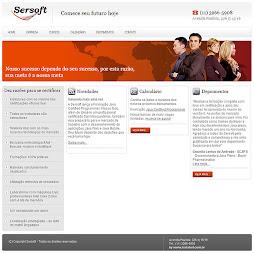 Projeto: Site Institucional Sersoft