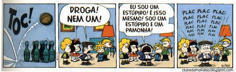 Clube da Mafalda: Tirinha 564