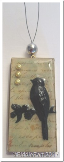 Domino Craft Domino Bird Tag