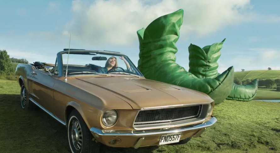"The Jolly Green Giant Is Back, 2 New Commercials via Deutsch ""Snow Angel"" and ""What Did He Learn"""