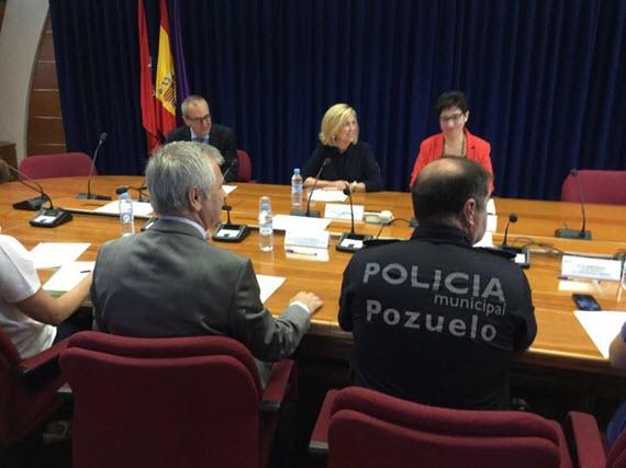 Mejoran los datos de delitos y faltas en Pozuelo en 2015