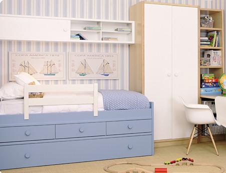 Muebles juveniles dormitorios infantiles y habitaciones - Fabricar cama nido ...