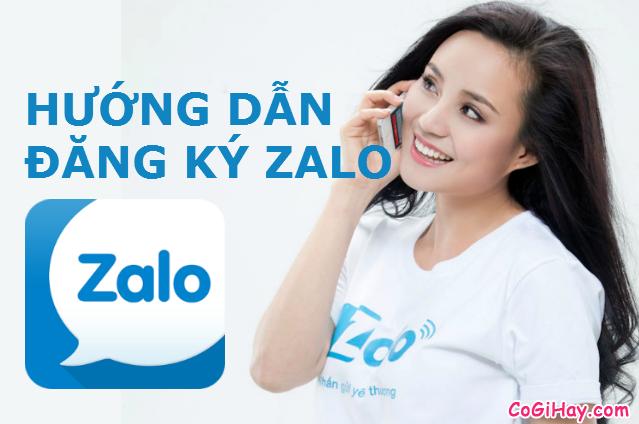 Đăng Ký Zalo – Lập nick chat Zalo trên điện thoại