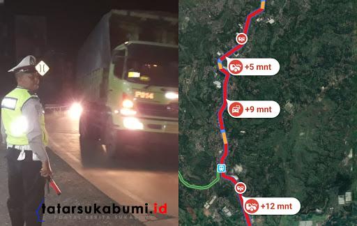 Situasi Terkini Arus Kemacetan Jalan Raya Sukabumi - Bogor