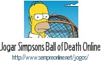 Jogo Simpsons Ball of Death Online