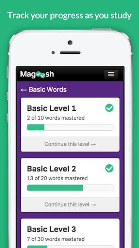 GRE Vocabulary Builder - Test Prep screenshot 4