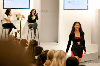 Cheryl Burke's Ideology Activewear launch at Macy's SF