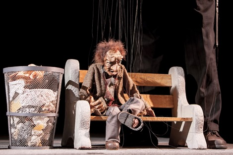 The Cashore Marionettes (Photo by Matt Cashore)