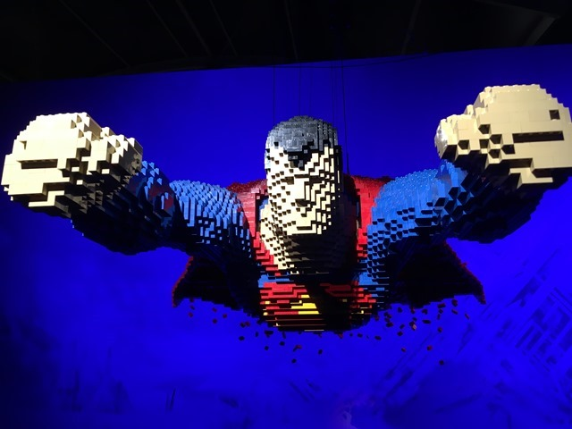 The Art of the Brick - Superman