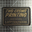 Last week we printed up a variety of Letterpress cards we ship out with each…