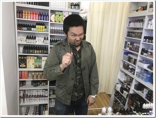 IMG 5669 thumb - 【弾丸訪問?】協力店4店舗をぶらり弾丸訪問してみました!スターターキットからPHANTOM Xまで、とにかくMr.VAPEが今熱いんだぜの巻【前編】