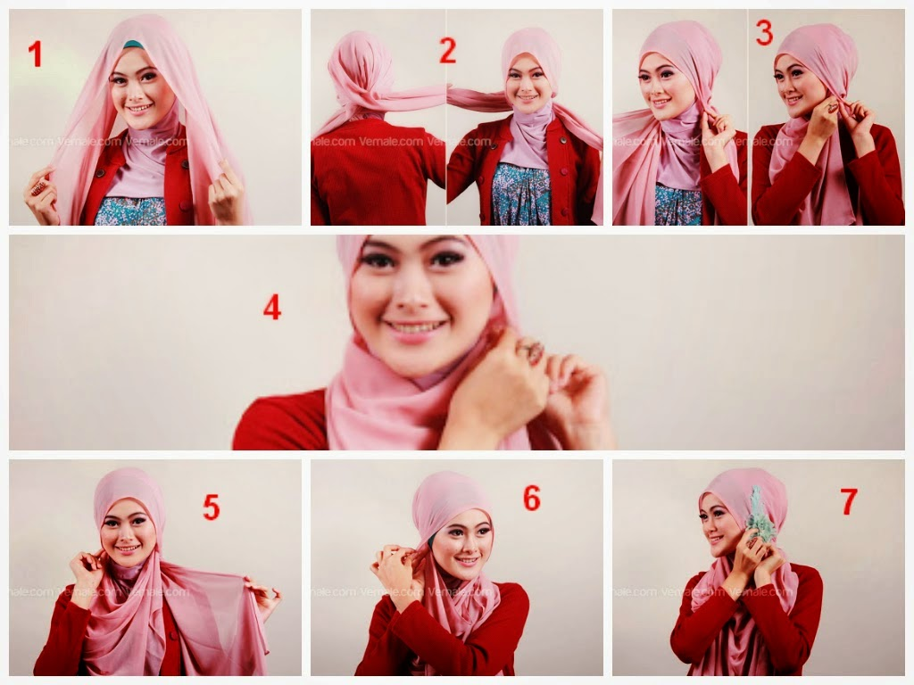 Tutorial Hijab Segi Empat Simple Untuk Wajah Oval Blog Video