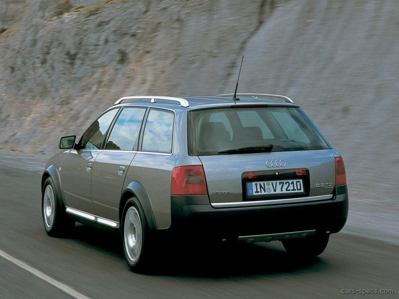 2003 audi allroad quattro wagon specifications pictures prices. Black Bedroom Furniture Sets. Home Design Ideas
