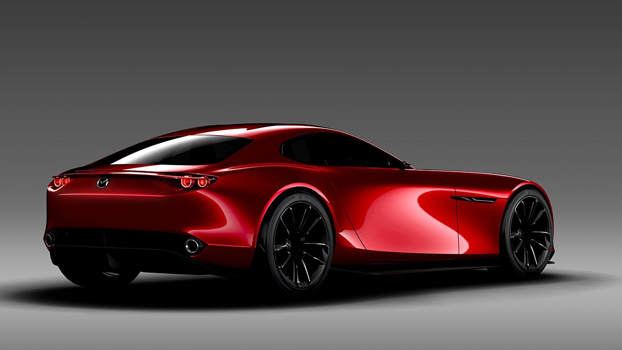 The new 2017 Mazda RX7 concept revealed - CarsAddiction.com