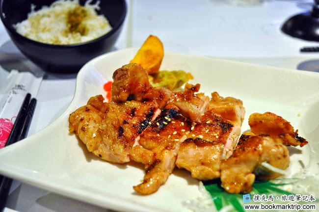 鰭味日式定食 - 主食日式照燒雞腿排