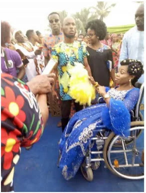 Physically Challenged Lady Whose Pre- wedding Photos Went Viral Finally Weds